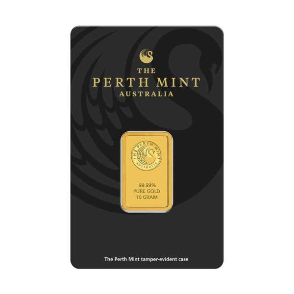 10 gram goudbaar Perth Mint