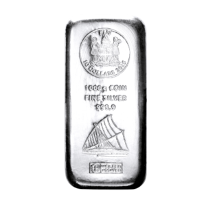1 kg zilverbaar Fiji Argor Heraeus