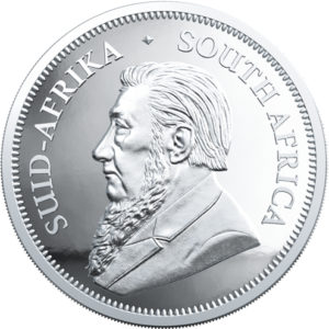 1 oz Krugerrand Proof zilver (2020)