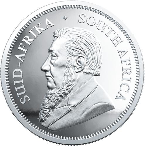 1 oz Krugerrand Proof zilver (2020)
