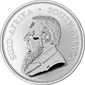 1 oz Krugerrand zilver (2021)