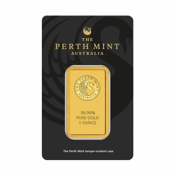 1 oz (31,1 gram) goudbaar Perth Mint
