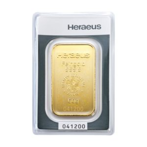 50 gram goudbaar Heraues
