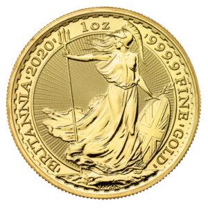 1 oz Britannia goud (2020)