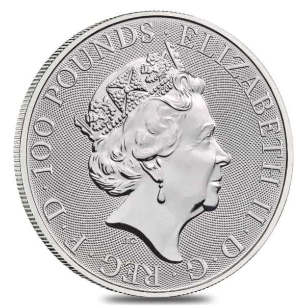1 oz Britannia platina (2021)