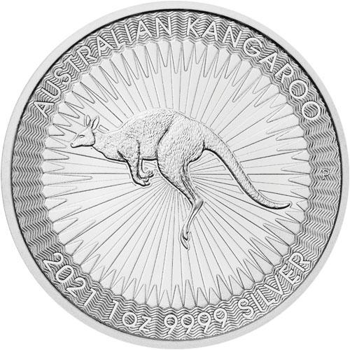 1 oz Australian Kangaroo zilver (2021)