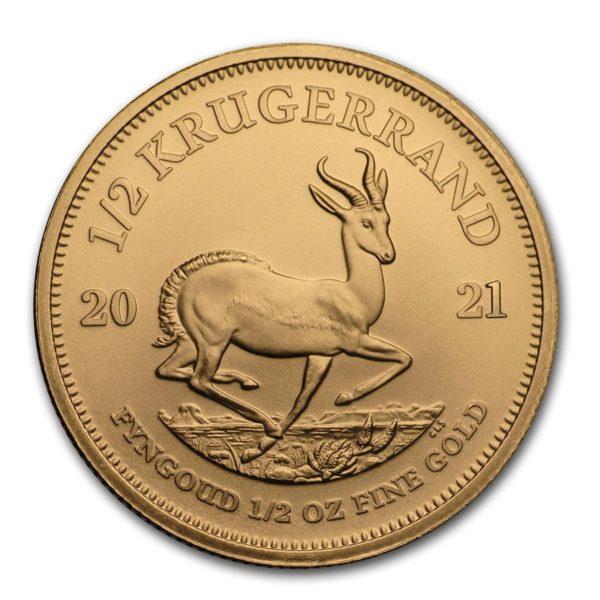1/2 oz Krugerrand goud (2021)