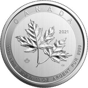 10 oz Magnificent Maple Leaf zilver (2021)