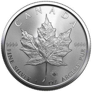 1 oz Maple Leaf zilver (2021)