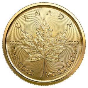 1/10 oz Maple Leaf goud (2021)