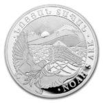 5 oz Noah's Ark zilver (2021)