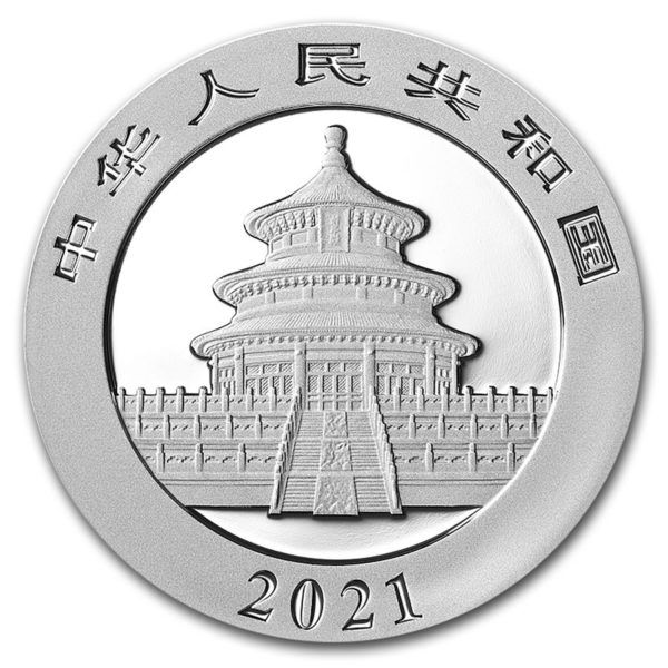1 kg China Panda Proof zilver (2021)