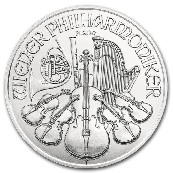1 oz Vienna Philharmonic platina (2021)