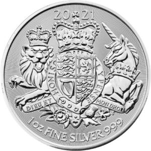 1 oz Royal Arms zilver (2021)