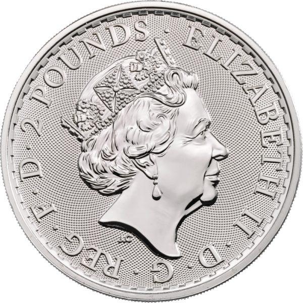 1 oz Royal Arms zilver (2021)