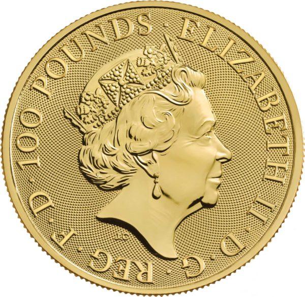 1 oz Royal Arms goud (2021)