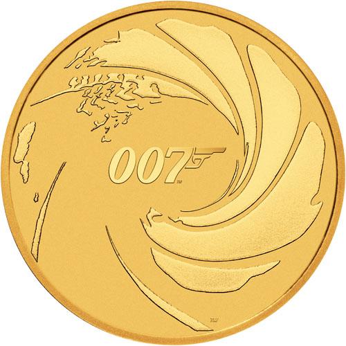 1 oz James Bond 007 Tuvalu goud (2020)