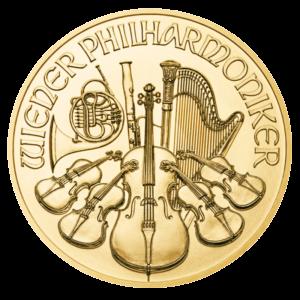 1/2 oz Vienna Philharmonic goud (2021)