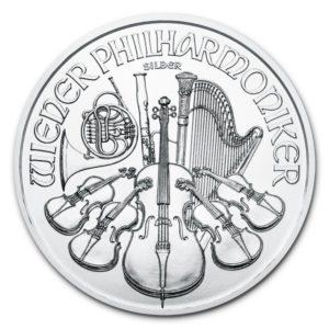 1 oz Vienna Philharmonic zilver (2021)