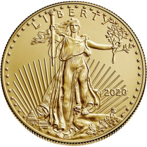1 oz American Eagle goud (2020)