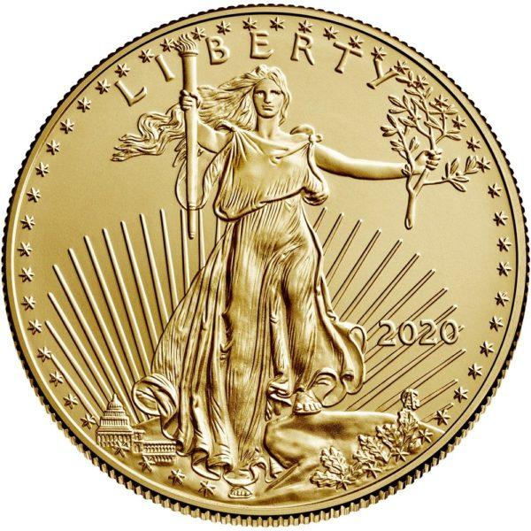 1 oz American Eagle goud (2020)