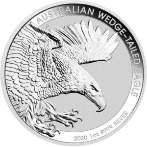1 oz Australian Wedge Tailed Eagle zilver (2020)