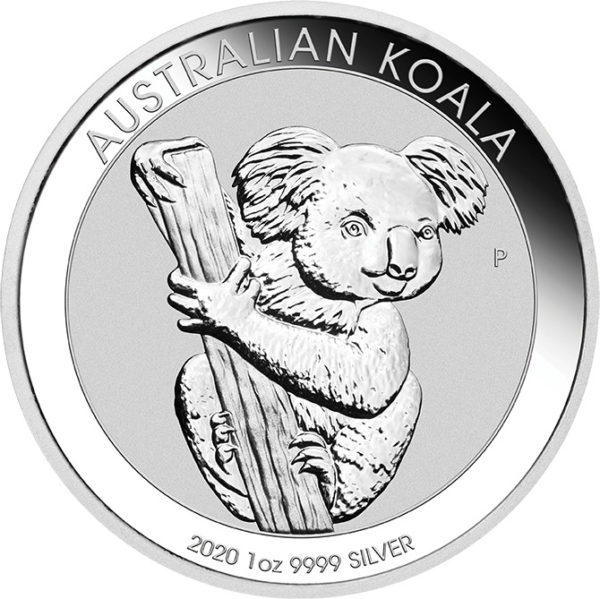 1 oz Australian Koala zilver (2020)