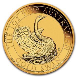 1 oz Australian Swan goud (2020)