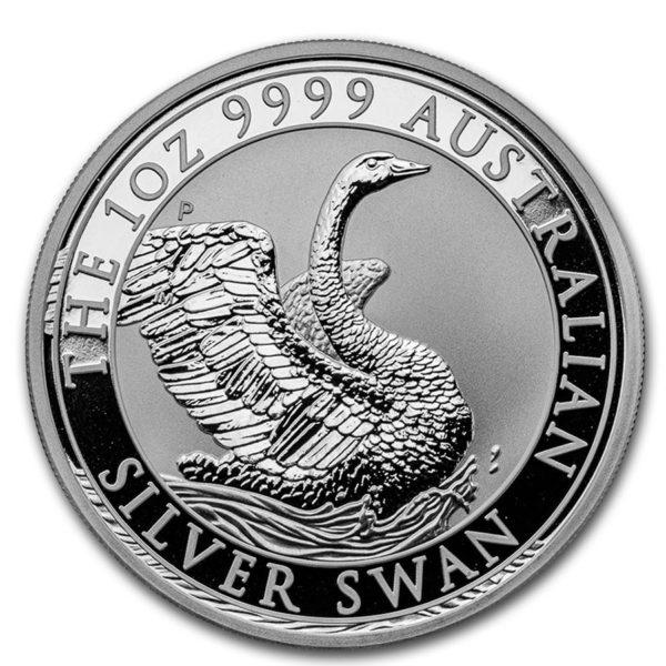 1 oz Australian Swan zilver (2020)