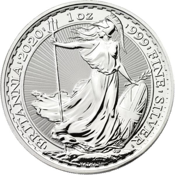 1 oz Britannia zilver (2020)