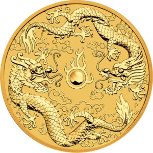 1 oz Dragon & Dragon goud (2020)