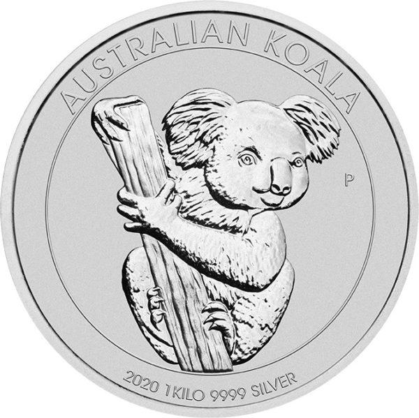1 kg Australian Koala zilver (2020)