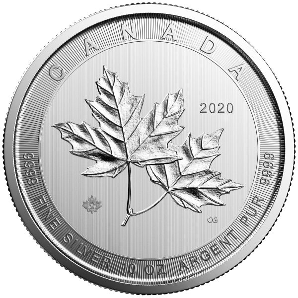 10 oz Magnificent Maple Leaf zilver (2020)