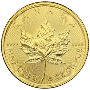 1/2 oz Maple Leaf goud (2020)