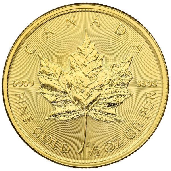 1/2 oz Maple Leaf goud (2020)