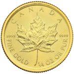1/4 oz Maple Leaf goud (2020)