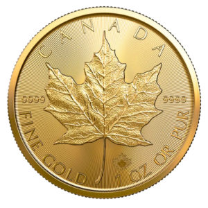 1 oz Maple Leaf goud (2020)