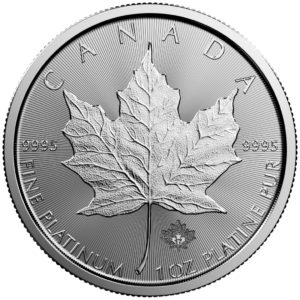 1 oz Maple Leaf platina (2020)