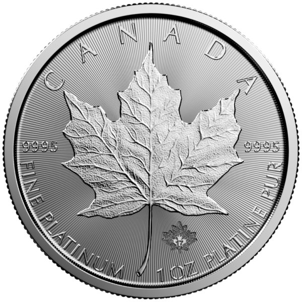 1 oz Maple Leaf platina (2020)