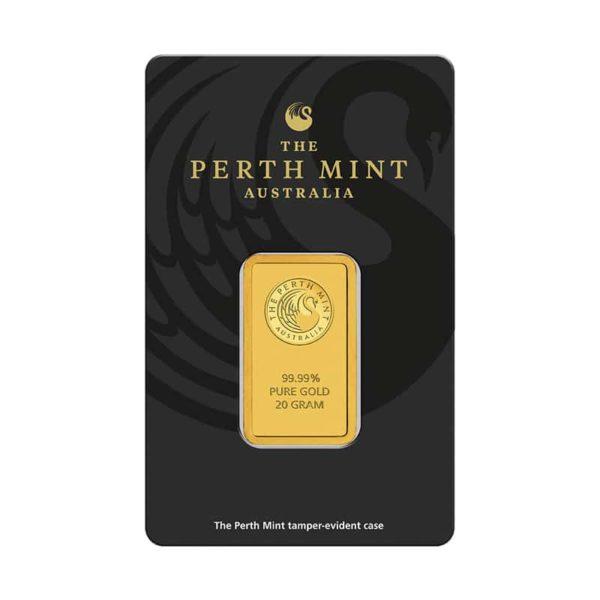 20 gram goudbaar Perth Mint