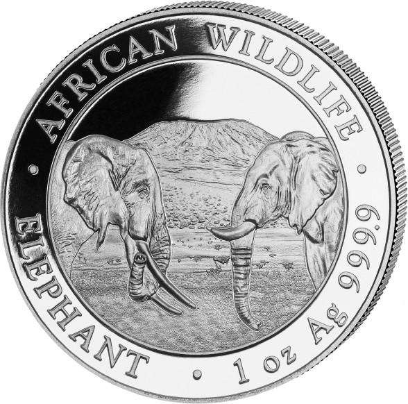 1 oz Somalia Elephant zilver (2020)