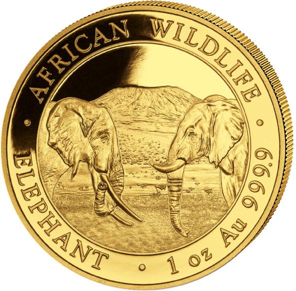 1 oz Somalia Elephant goud (2020)