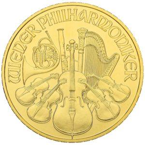 1 oz Vienna Philharmonic goud (2020)
