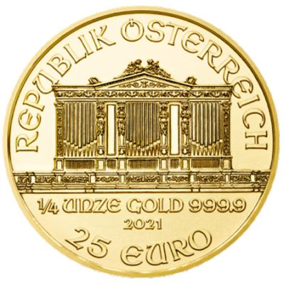 1/4 oz Vienna Philharmonic goud (2021)