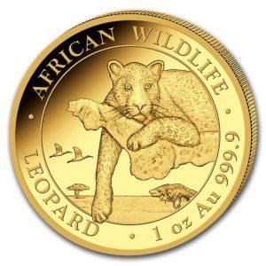 1 oz Somalia Leopard goud (2020)