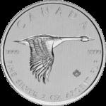 2 oz Canada Goose zilver (2020)