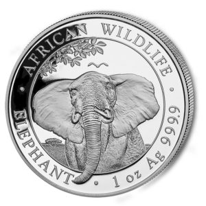 1 oz Somalia Elephant zilver (2021)