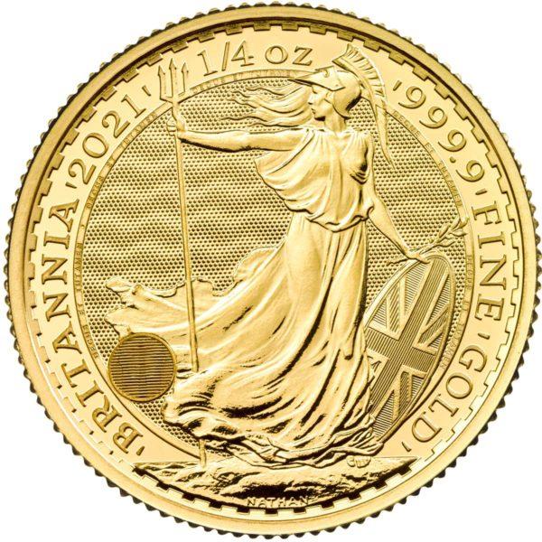 1/4 oz Britannia goud (2021)