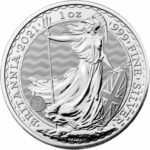 1 oz Britannia zilver (2021)