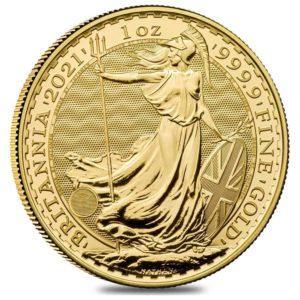 1 oz Britannia goud (2021)